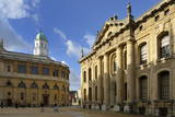 The Clarendon Building and Sheldonian Theatre  Oxford  Oxfordshire  England  United Kingdom  Europe