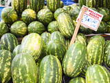 Watermelons for Sale at Capo Market