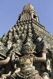 Wat Arun (The Temple of Dawn) Stupa  Bangkok  Thailand  Southeast Asia  Asia