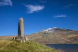 Phallic Stone at Kari Lake Situated at the Base of Mount Aragats