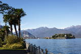 View over Isola Bella  Borromean Islands  Lake Maggiore  Italian Lakes  Piedmont  Italy  Europe