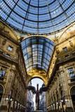 Galleria Vittorio Emanuele Ii  Milan  Lombardy  Italy  Europe