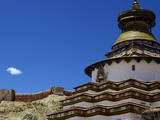 The Kumbum Chorten (Stupa) in the Palcho Monastery at Gyantse  Tibet  China  Asia