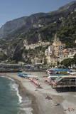 Amalfi Peninsula  Amalfi Coast  UNESCO World Heritage Site  Campania  Italy  Mediterranean  Europe