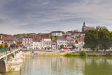 The Town of Joigny  Yonne  Burgundy  France  Europe