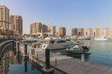 Marina at the Pearl Qatar  Doha  Qatar  Middle East