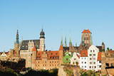 Skyline  Gdansk  Poland  Europe