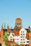 Skyline  Gdansk  Poland  Europe