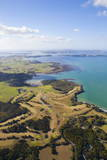 Aerial View over the Bay of Islands  Northland  North Island  New Zealand  Pacific