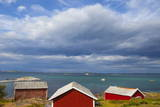 Fishing Sheds  Kjerringoy  Nordland  Norway  Scandinavia  Europe