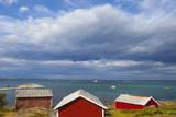 Fishing Sheds  Kjerringoy  Nordland  Norway  Scandinavia  Europe