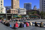 Union Square  San Francisco  California  United States of America  North America