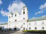 Old Convent of Piarist Friars and St Cross  Church of the Holy Cross  Rzeszow  Poland  Europe