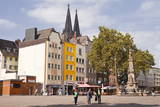 Alter Markt in the Old Part of Cologne  North Rhine-Westphalia  Germany  Europe