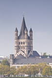 The Tower of the Great Saint Martin Church  Cologne  North Rhine-Westphalia  Germany  Europe