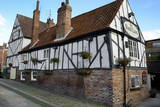 The 13th Century Half-Timbered Red Lion Public House