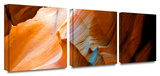 Slot Canyon 3-Piece Canvas Set