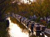 Canal Boats  Little Venice  London W9  England  United Kingdom  Europe
