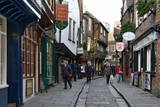 The Medieval Narrow Street of the Shambles and Little Shambles