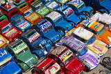 Toy Cars Made with Metal Food Box and Sold on the National 7 Road  Madagascar  Africa
