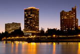 Lake Merritt  Oakland  California  United States of America  North America