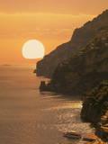 Positano  Amalfi Coast  UNESCO World Heritage Site  Campania  Italy  Mediterranean  Europe