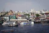 Chao Phraya River  Bangkok  Thailand  Southeast Asia  Asia