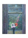 Summer Night (Bouquet in Window)  2013