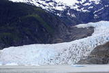 Mendenhall Glacier  Juneau  Alaska  United States of America  North America
