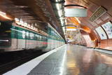 The Paris Metro Station of Arts Et Metiers  Paris  France  Europe