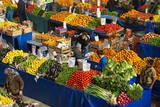 Fruit and Vegetable Market  Konya  Central Anatolia  Turkey  Asia Minor  Eurasia