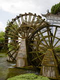 Water Mill in the Old Town  Lijiang  UNESCO World Heritage Site  Yunnan Province  China  Asia