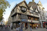 Timber-Framed House on Corn Market Street  Oxford  Oxfordshire  England  United Kingdom  Europe