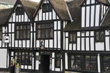 The 15th Century Half-Timbered Black Swan Public House