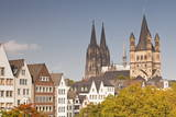 The Old Town of Cologne  North Rhine-Westphalia  Germany  Europe