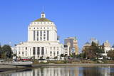 Alameda County Court House and Lake Merritt