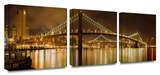 Brooklyn Bridge 3-Piece Canvas Set