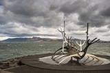 Solfar (Sun Voyager) Sculpture by Jon Gunnar Arnason in Reykjavik  Iceland  Polar Regions