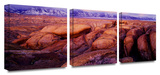 Sierra Dawn Storm light 3-Piece Canvas Set