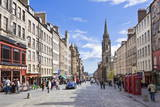 The High Street in Edinburgh Old Town