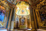 Chapel  Royal Summer Palace of Queluz  Lisbon  Portugal  Europe