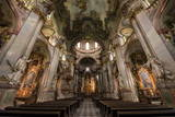 St Nicholas Church Interior  Prague  Czech Republic  Europe