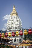 Kek Lok Si Temple During Chinese New Year Period  Penang  Malaysia  Southeast Asia  Asia