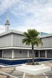 The National Mosque of Malaysia  Kuala Lumpur  Malaysia  Southeast Asia  Asia
