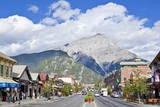 Banff Town and Cascade Mountain