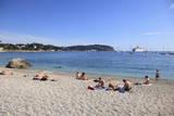 Beach  Villefranche Sur Mer  Cote D'Azur  French Riviera  Alpes Maritimes