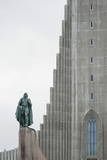 Hallgrimskirkja Lutheran Parish Church  Reykjavik  Iceland  Polar Regions
