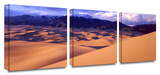 Great sand dunes 3-Piece Canvas Set