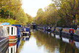 Canal Boats  Little Venice  London  England  United Kingdom  Europe