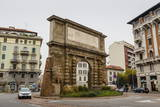 The Roman Gate  Porta Romana  Milan  Lombardy  Italy  Europe